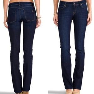 DL1961 Cindy Slim Bootcut Jeans in Saddle Wash